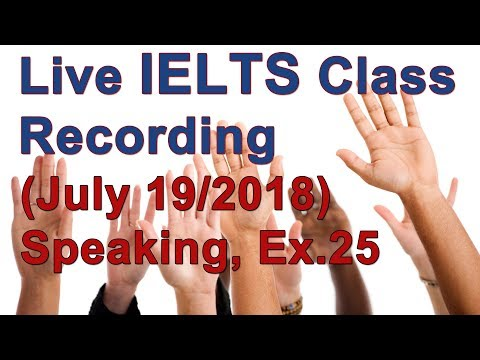 IELTS Speaking for High Scores  Example with Strategies sponsorchat only