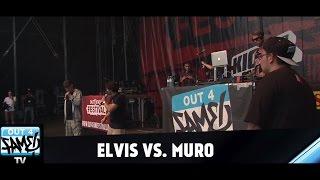 1ON1 Freestyle-Battle -  ELVIS vs MURO (Out4Fame Festival Finale  2014)