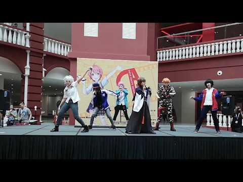 [Ookami Ouji] HypnosisMic | Division Battle Anthem 踊ってみた @Kikasai2018 07102018 ( Part 2 )