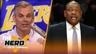 Colin Cowherd says Doc and LeBron wouldn't mesh, talks Lakers' demise & Westbrook | NBA | THE HERD