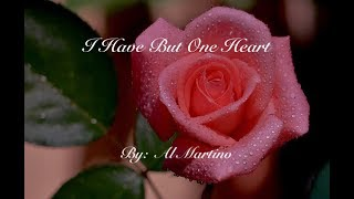 i-have-but-one-heart-al-martino