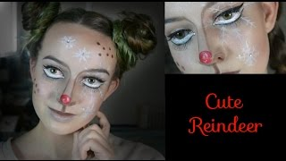 Christmas Reindeer ~ Makeup Tutorial