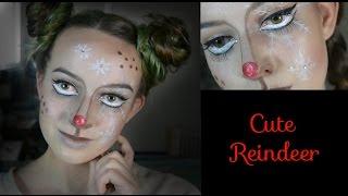Christmas Reindeer ~ Makeup Tutorial