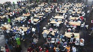مئات اللاجئين والمهاجرين يصلون إلى ألمانيا وقد يتجاوزون الـ: 10 آلاف مساءً