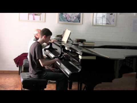 Dimitri Bashkirov - Master Class For Piano: Victor Maslov plays Rachmaninov