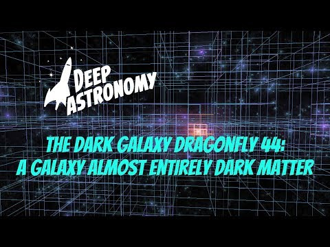 The Dark Galaxy Dragonfly 44:  A Galaxy Almost Entirely Dark Matter