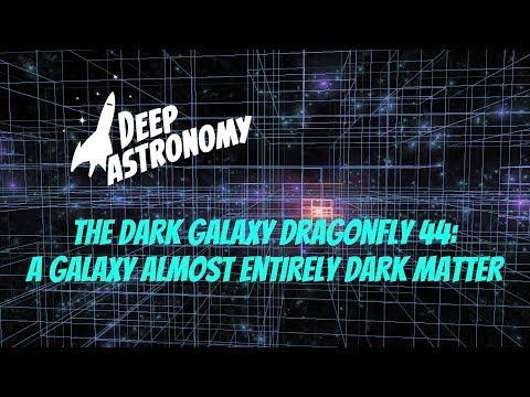 The Dark Galaxy Dragonfly 44:  A Galaxy Almost Entirely Dark Matter