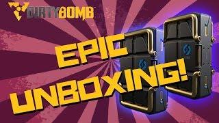 Dirty Bomb | COBALT PHANTOMS? EPIC 30 Elite Case Unboxing!!
