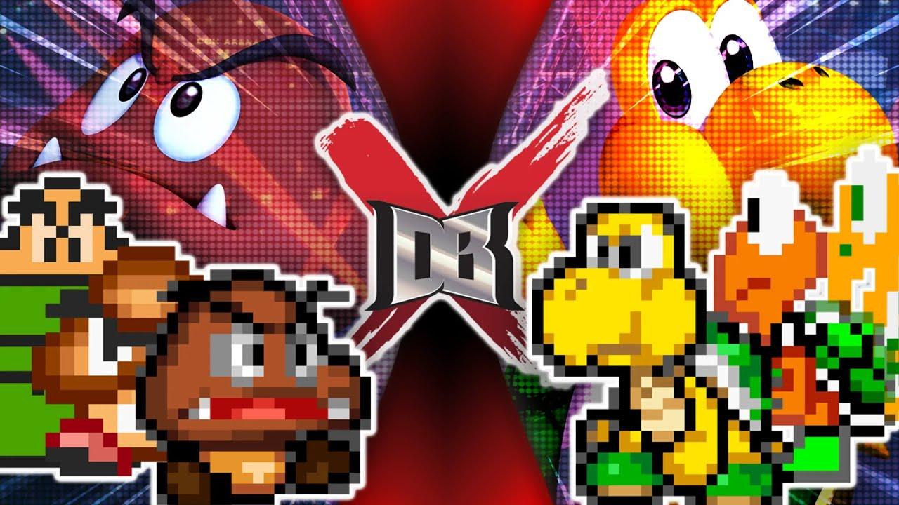 Goomba VS Koopa II (Nintendo VS Nintendo)   DBX