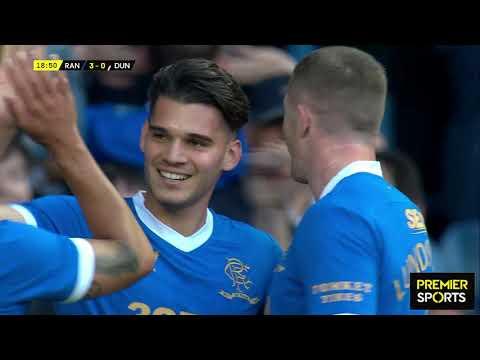 Rangers Dunfermline Goals And Highlights
