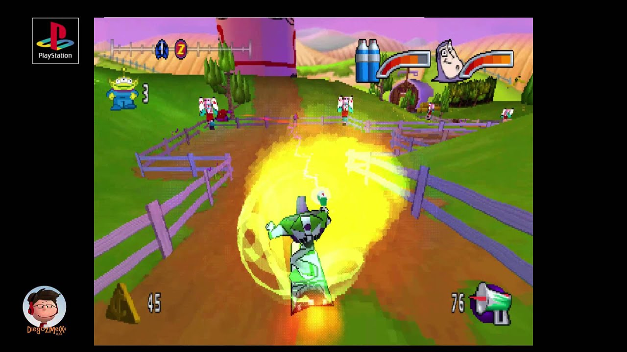 Juegos De Buzz Lightyear Para Pintar: Disney Buzz Lightyear Of Star Command Game Walkthrough