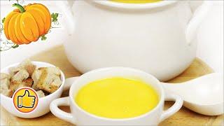 Суп-Пюре из Тыквы, Что приготовить на Хэллоуин? | Soup Puree from Pumpkin, Halloween