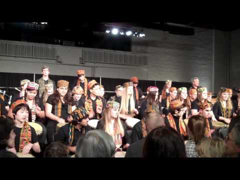 phillips exeter academy West african drumming ensemble