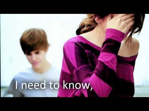Justin Bieber that should me.. :) Lyrics HQ HD]