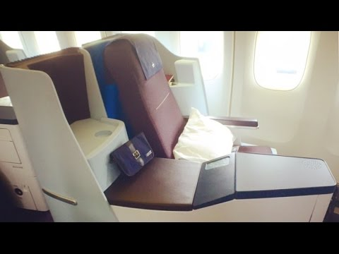 KLM Business Class AMS-LAX Boeing 747 | Flight Report [HD]