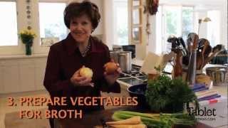 Joan Nathan's Chosen Food: The Ultimate Matzo Ball Soup