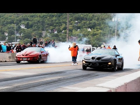 23 Minutes of No Prep – Arm Drop STREET RACING!!! Duluth Drag Races 2019 – Eliminations