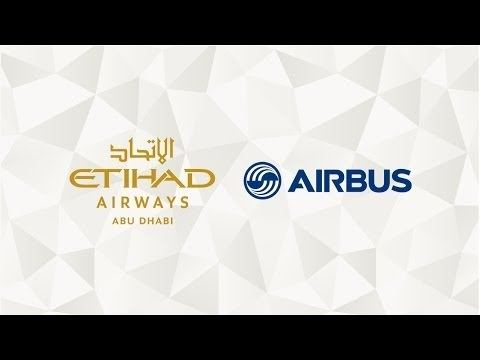 Etihad Airways - Airbus A380 Livery Unveil Live from our facilities in Hamburg