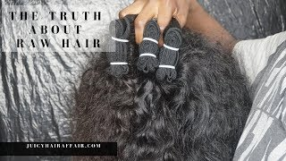 RAW INDIAN HAIR TIPS  WHAT THEY DON'T TELL YOU ABOUT RAW HAIR  JUICYHAIRAFFAIR COM