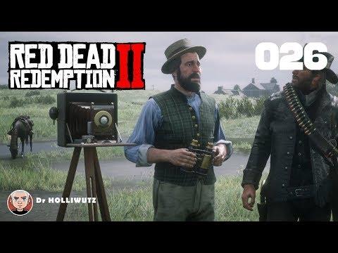 Red Dead Redemption 2 gameplay german #026 - Auf der Jagd mit Charles [XB1X] | Let's Play RDR 2