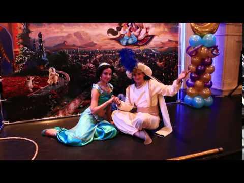 Принцесса Жасмин и Аладдин на детский праздник. 8-916-915-87-53
