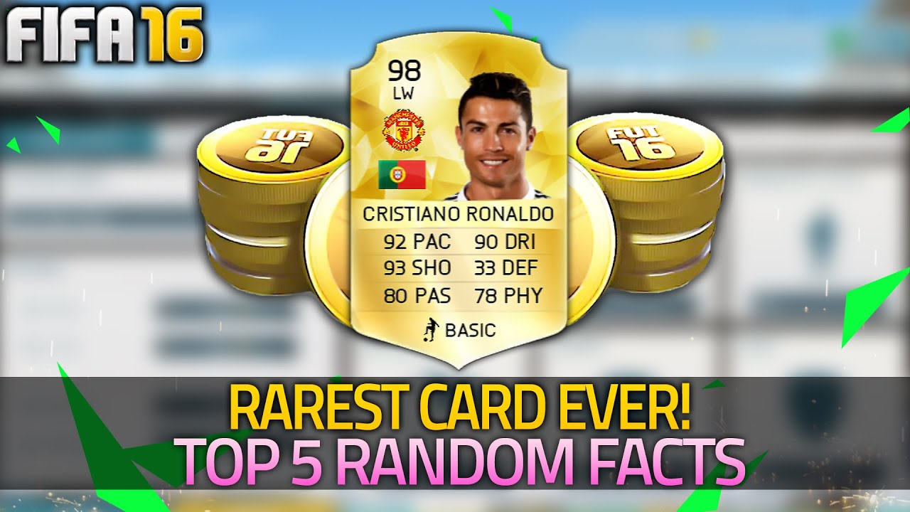 FIFA 16 | RAREST CARD ON ULTIMATE TEAM | Stacking FREE Coins - (FIFA