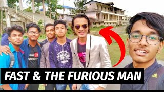 Fast And Furious Man aka Amitabh Bachchan's All Time Biggest Fan   All Assam Youtubers Meetup