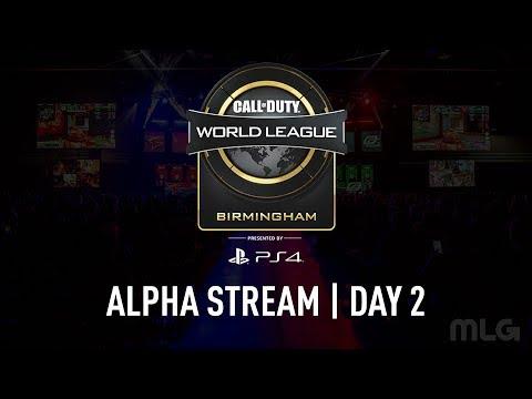 CWL Birmingham Open | Alpha Stream | Day 2