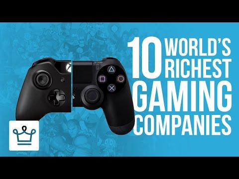 Top 10 Richest Gaming Companies In The World 2016