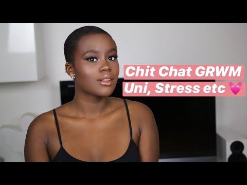 Chit Chat GRWM Lifeupdate - Uni, Umgang mit Stress etc | Henriette Campbell