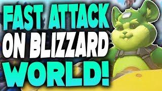 Fast Attack On Blizzard World