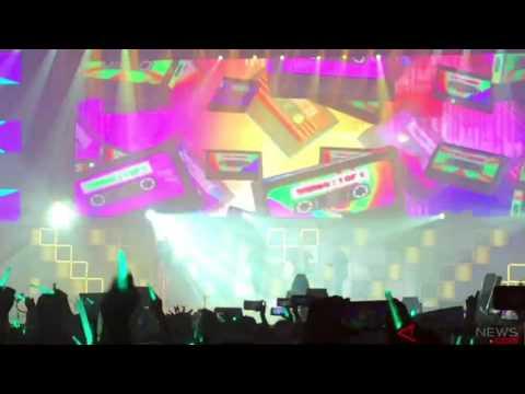 """ANTARANEWS - SHINee Membawakan Lagu """"1 Of 1"""" Di SHINee World V, JIExpo Kemayoran, Jakarta"""