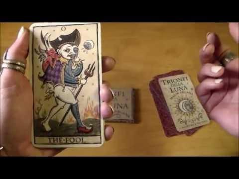 Trionfi Della Luna Tarot Review & Giveaway!