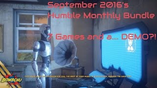 Humble Monthly Bundle | September 2016 Review
