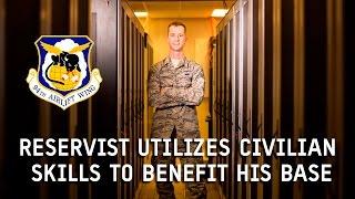 Cyber Systems Technician: SSgt Trent Davis