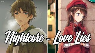 Nightcore Love Lies - Khalid Normani Switching Vocals - Lyrics.mp3