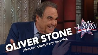 Oliver Stone: We Live In A Disney World