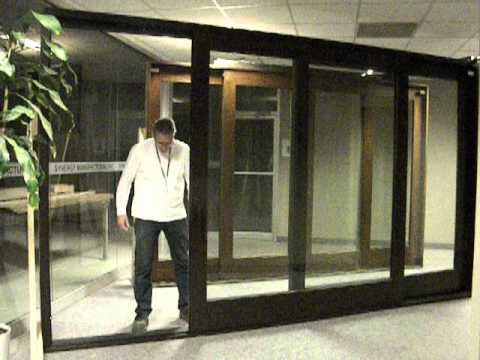 2 Panel Lift U0026 Slide Patio Door   YouTube