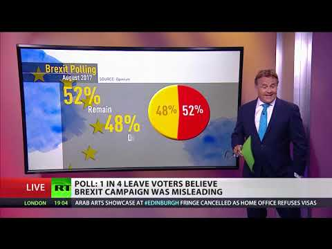1 in 4 Leave voters believe #Brexit campaign was