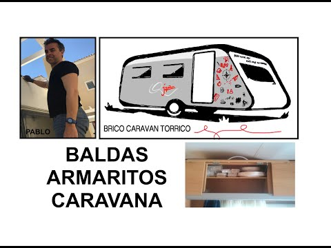Valdas en armarios de caravana youtube for Ideas para organizar armarios