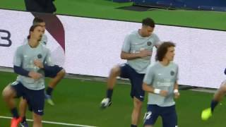 David Luiz ● Zlatan Ibrahimovic ● Paris Saint-Germain vs As Saint-Etienne 2014