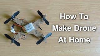 How to Make Drone At Home | Telugu Creative