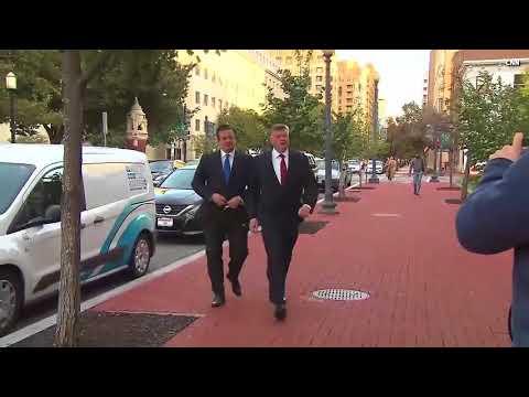 VIDEO:  Paul Manafort Turns Himself In At FBI Headquarters