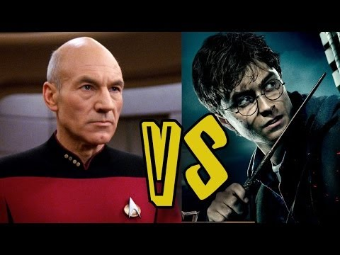 Star Trek VS Harry Potter - Fictional Sports - Geek World Radio Ep. 77