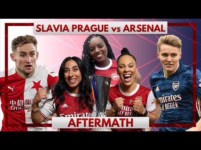 Slavia Prague vs Arsenal | Aftermath Ft. Pippa, Helen & Charlene