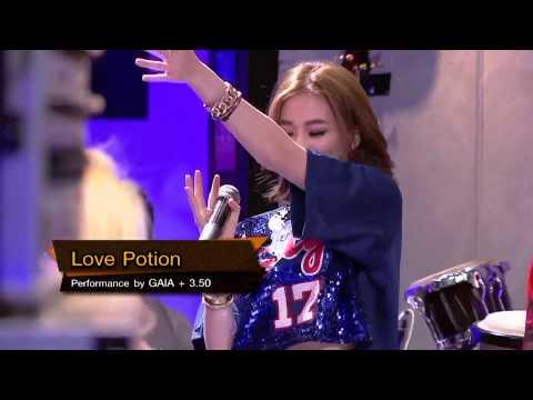 Love Potion - Gaia feat. ขบวนการ 3.50 (Studio Gogang Version)