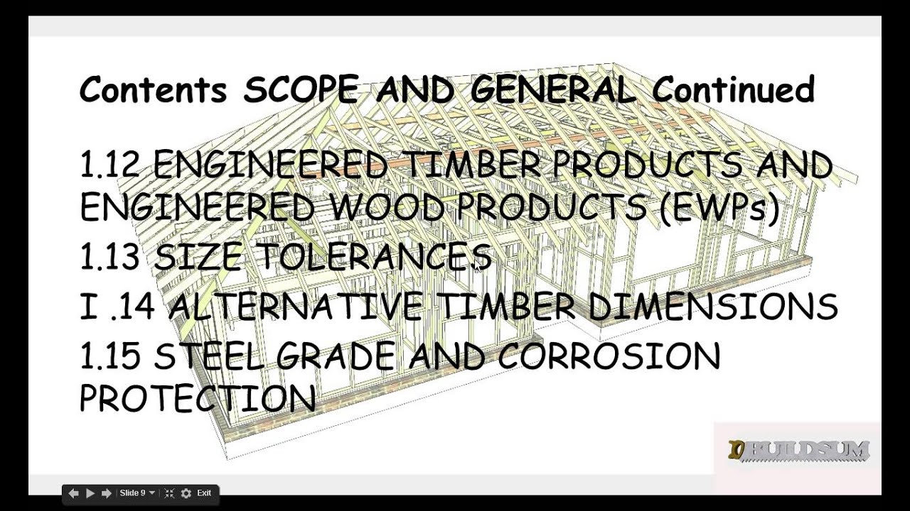 Timber Framing Code - Introduction - YouTube
