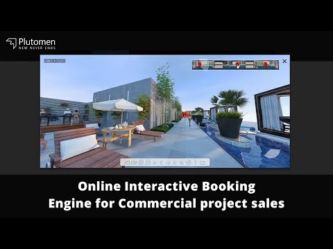 Online Interactive Booking Engine for Commercial project sales