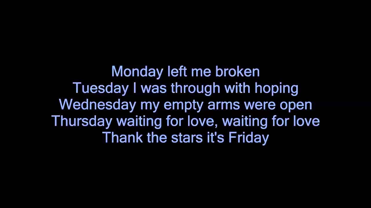 Avicii Waiting For Love Lyrics Music Video Youtube