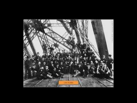 La Tour Eiffel  - Sa construction